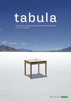 Titelseite Fachzeitschrift tabula
